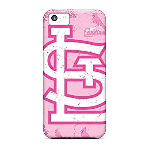 linJUN FENGAwesome St. Louis Cardinals Flip Case With Fashion Design For iphone 4/4s