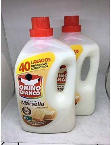 Omino Bianco Producto para el Lavado a Mano y de Prendas Delicadas, Marsella - 2000 ml