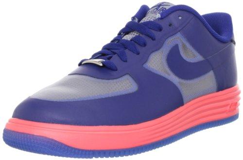 Nike Lunar Force 1 Fuse Lthr Herre Trænere 599839 Sko Sneakers 001-ulv Gry / Dp Ryl Blå-atmc Rd jYrb2wKG