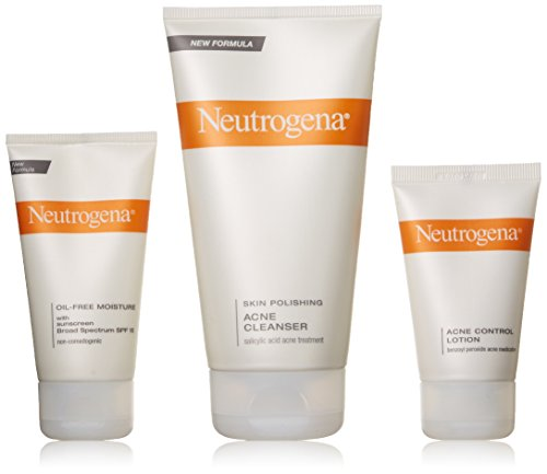 Neutrogena Complete Acne Therapy System - Prone Skin Kit Acne