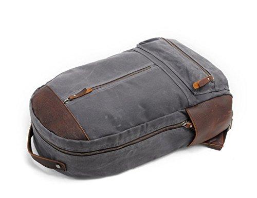 Neu, Retro, Persönlichkeit, Mode, Outdoor-Tasche, Rucksack, Leinwand wasserdichte Tasche, B0108