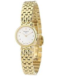 Tissot Women's T0580093303100 T-Trend Analog Display Swiss Quartz Gold Watch