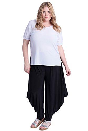 Women's Plus Size Stretch Dhoti Gaucho ()