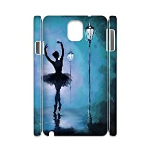 kimcase Custom Ballet 3D Case Cover for Samsung Galaxy Note3 N9000