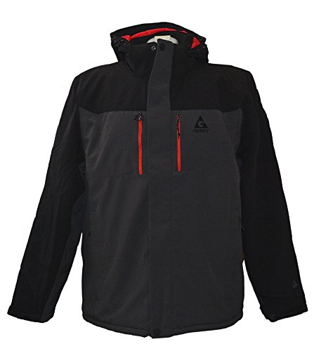 Gerry Men's Jacket Vault Technologies Outdoor Performance Insulated Coat MD Black -