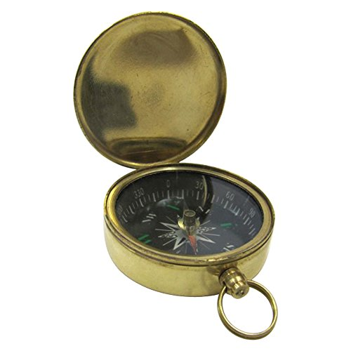 Armor Venue Pocket Compass, Black Dial w/Green Outdoor Camping Gear by Armor Venue