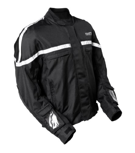 Luminescent Electro Panel (GlowRider Electro-Luminescent Jacket (Black, X-Large))