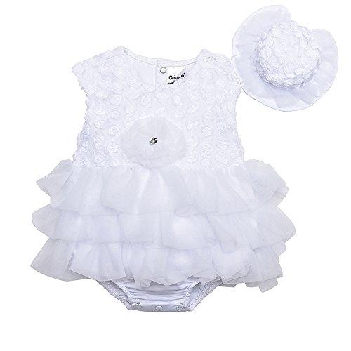 e9484a766de0 Booulfi Crystal Newborn Toddler Girls Dress Party Mini Princess Dress  Birthday Party Tulle Short Sleeves Dress