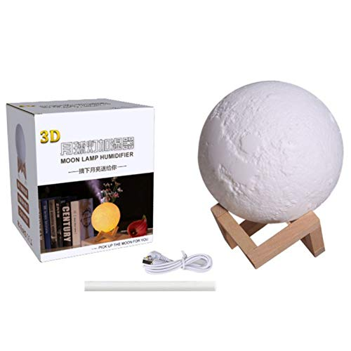 Incense Incense Burners - 3d Moon Lamp Humidifier Air Essential Oil Diffuser Aroma Aromatherapy Electric Mist Valentine 39 S - Mist Burner Oils Aromatherapy Burners Oil Aroma Table Burner Cens