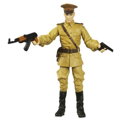 COLONEL DOVCHENKO from Kingdom of the Crystal Skull Action Figure & Accessories (Includes Hidden Relic)