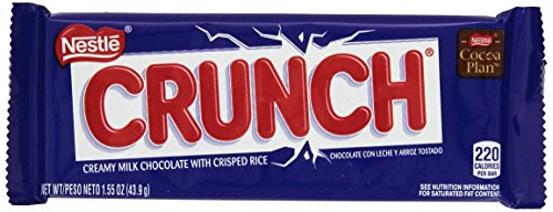 Nestle Crunch Bar, 1.55 oz, 36 count