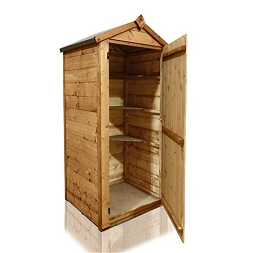3x2 BillyOh Wooden Tongue and Groove Sentry Box Log Storage Petite