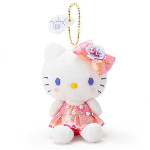 [Sanrio Hello Kitty mascot holder PARTY UNDER THE SEA From Japan New] (Under The Sea Dress Up Ideas)