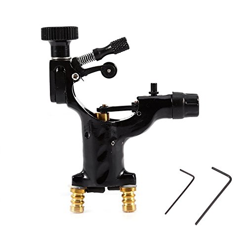 - Latest Generation Dragonfly Professional 11000R/Minute Electric Rotary Liner Shader Tattoo Machine Gun Permanent Makeup Tool (Black)