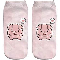 Calcetines Coreanos de algodón para Damas y Mujeres