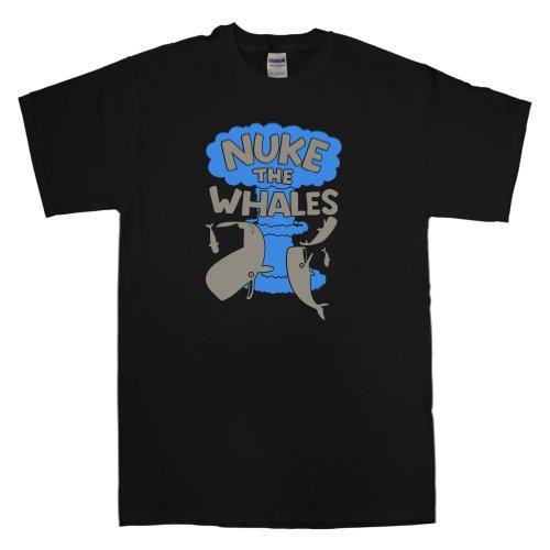 Mens Nuke The Whales T Shirt - 8Ball Originals Tees