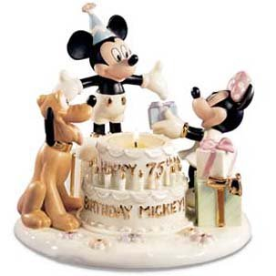 Lenox Disney Mickey's 75th