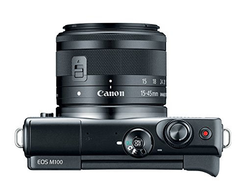 Canon M100 Camera Lens Bluetooth, and NFC