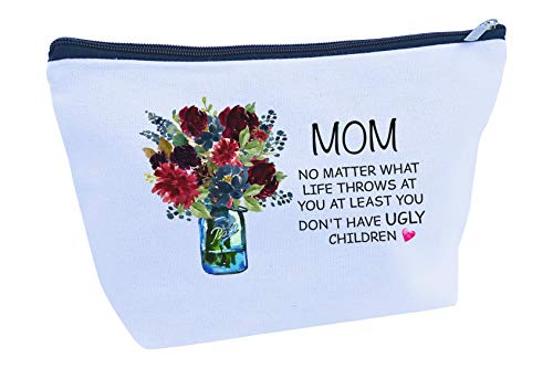 Mother's Day Gifts for Mom Birthday Mother Large Travel Makeup Bag (MB101)