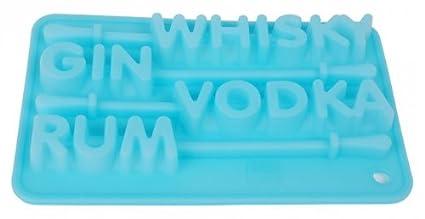 Silicona molde para hielo - cóctel - para 4 paper-cubitos de hielo