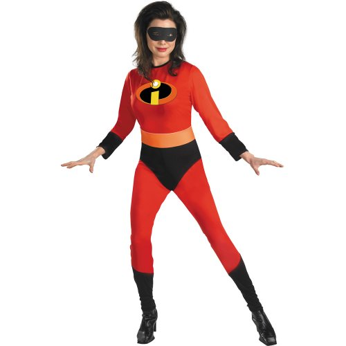 [Mrs. Incredible Costume - Large - Dress Size 12-14] (The Incredibles Mrs Incredible Costumes)
