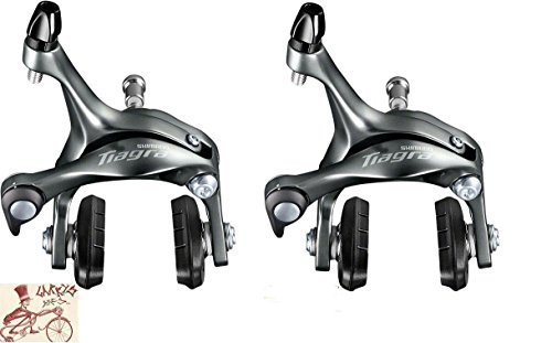 SHIMANO BR-4700 Tiagra Caliper Front and Rear Road Bicycle Brakes (Best Tiagra Road Bike)