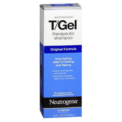 (Neutrogena T/Gel Therapeutic Shampoo Original Formula 16 oz (Packs of 2))