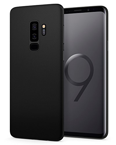 Spigen Air Skin Galaxy S9 Plus Case with Minimal Thin and Slim Form Fitted Lightweight Cover for Samsung Galaxy S9 Plus (2018) - Black