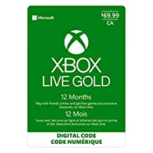 Xbox Live Gold: 12 Month Membership - Xbox Series X [Digital Code]