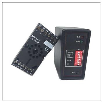 PD132 Sensor de tierra de tráfico, Detector de vehículo de bucle de inducción, señal de control: Amazon.es: Informática