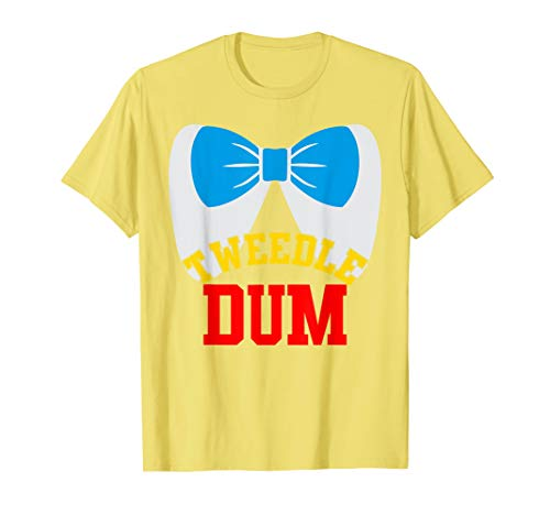 Tweedle Dum And Dee Costumes (Tweedle Dee Dum funny matching halloween costume for couples)