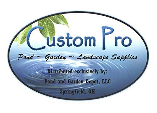 Custom Pro EPDM Pond Liner and Protective Underlayment 12x15 Foot Combo Kit - Over 400% More Puncture Resistant Than EPDM Alone - Easy to Install, Durable, Fish and Plant Safe