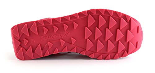 sneakers saucony donna 1044/429 colore rosso bianco. nuova collezione autunno inverno 2017/2018.