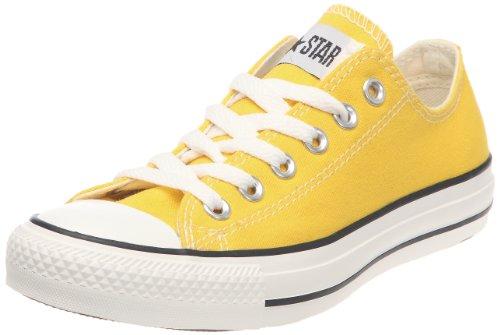 Converse Scarpe Unisex Sneakers Tessuto Giallo 130129C