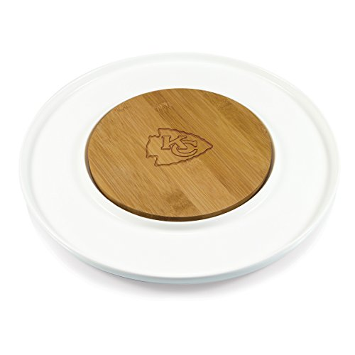 PICNIC TIME NFL Kansas City Chiefs Island Laser Engraved Cutting Board