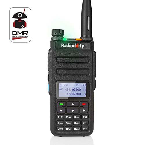 Radioddity GD-77 Dual Band Dual Time Slot DMR Digital/Analog Two Way Radio 136-174/400-470MHz 1024 Channels Ham Amateur Radio Compatible with MOTOTRBO, Free Programming Cable by Radioddity (Image #8)