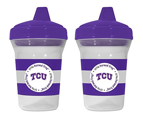 Baby Fanatic Sippy Cup- Texas Christian University by Baby Fanatic