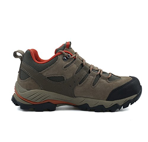 Pictures of HIFEOS Hiking BootsMens Womens Unisex Suede Leather 8