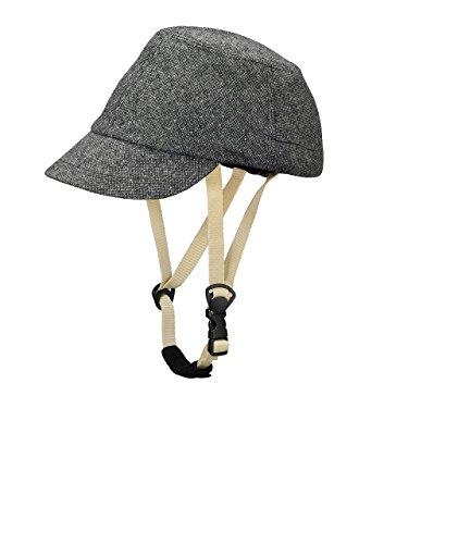 [해외] CAPOR(카 폴) 월 너트 C6054SDJ 다크 그레이 갈아입히기용 모자 부착 자전거 헬멧