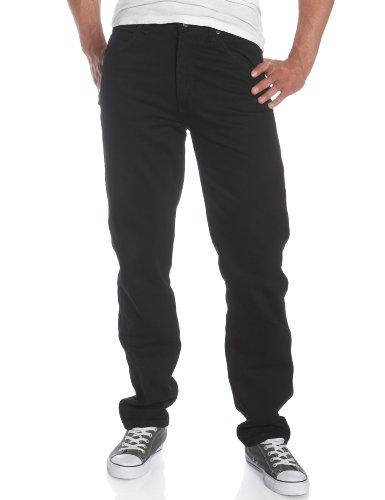 Wrangler Men's Big & Tall Rugged Wear Classic Fit Jean, Black, 44W x 34L Big And Tall Bootcut Jeans