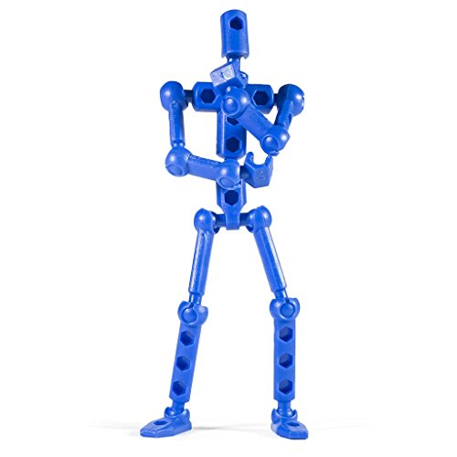 ModiBot Mo Action Figure Kit - Blue