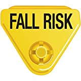 IN-A-SNAP WBCLASP-BFR3 Alert Bands Clasp, Plastic,FALL RISK Embedded Print, Interleaving Design, State Standardization X, Adult/Pediatric, Yellow (Pack of 250)