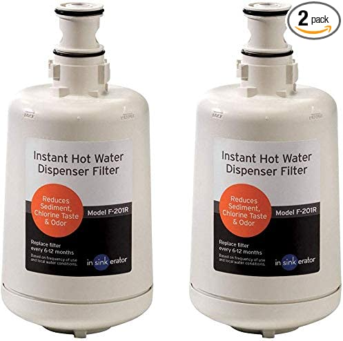 Insinkerator HWT-F1000S Hot Water Tank and Filtration System /& Insinkerator F-201R Replacement Filter