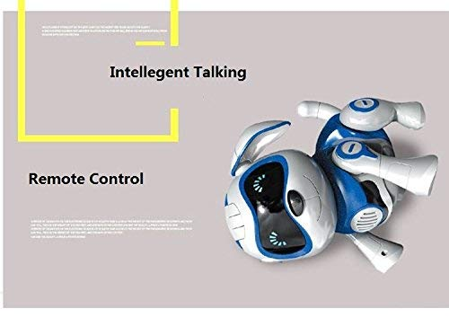 Yeezee Wirless Robot Puppy, Interactive Little Baby Pup with Magent Bone, Walking Talking Remote Control Dog, Robot Pet for Kids/Boys/Girls (BB-1) by Yeezee (Image #7)