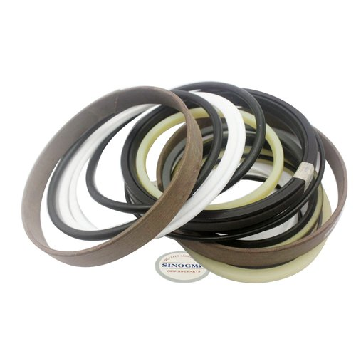 SK330-8 Arm Cylinder Repair Seal Kit - SINOCMP Service Seal Kits for Kobelco SK330-8 Excavator Parts, 3 Month Warranty:
