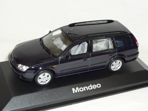 Ford Mondeo Limousine Schwarz Fusion MK5 Ab 2013 1//43 Greenlight Modell Auto m..