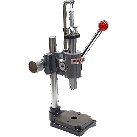 KAKA Industrial AP-1S Arbor Press, Solid Construction, 1 Ton Adjust Press Height Jewelry Tools - 2s Ap