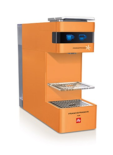 "illy Espresso Machine ""FrancisFrancis! Y3"" (Orange)【Japan Domestic Genuine Products】【Ships from Japan】"