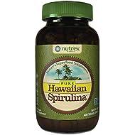 Pure Hawaiian Spirulina-500 mg Tablets 400 Count - Natural Premium Spirulina from Hawaii - Vegan, Non-GMO, Immunity Support - Superfood Supplement & Natural Multivitamin