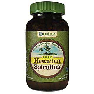 Pure Hawaiian Spirulina-500 mg Tablets 400 Count - Natural Premium Spirulina from Hawaii - Vegan, Non-GMO, Non-Irradiated - Superfood Supplement & Natural Multivitamin (B0039ITKSI) | Amazon price tracker / tracking, Amazon price history charts, Amazon price watches, Amazon price drop alerts